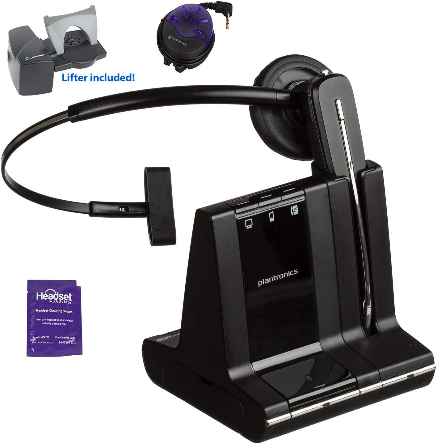 Renewed Plantronics-CS540 Convertible Wireless Headset with HL10 Handset Lifter