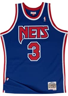 32a2fd253 Drazen Petrovic New Jersey Nets Mitchell and Ness Men's Blue Throwback Jesey