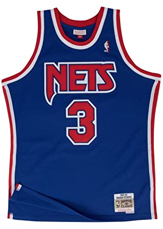 pretty nice b69a5 4f951 Drazen Petrovic New Jersey Nets Mitchell and Ness Men's Blue Throwback Jesey