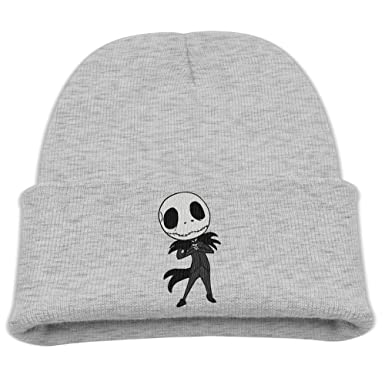 c07327e489cbc Kids Beanie Hat Nightmare Before Christmas Jack Skellington Skull Cap In 4  Colors
