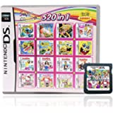 520-in-1 Ds Game Card Super Package, Game Packaging Card Box, Compatible with NES / 2DS XL/LL/NDSi / 3DS / NDS/NDSL…