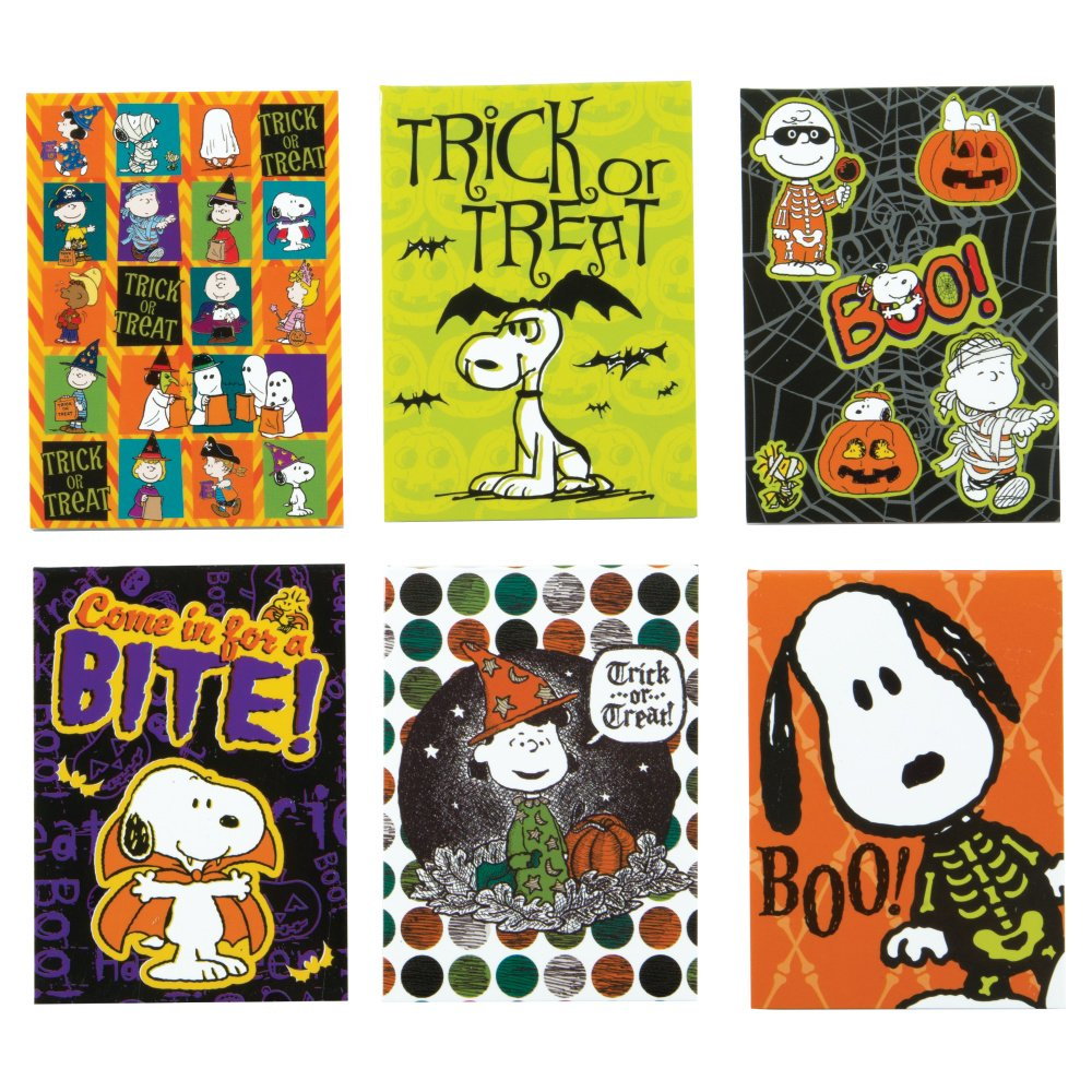 Raymond Geddes & Company, Inc. Peanuts Halloween Mini Memo 48/Display (70381) by Raymond Geddes & Company, Inc.