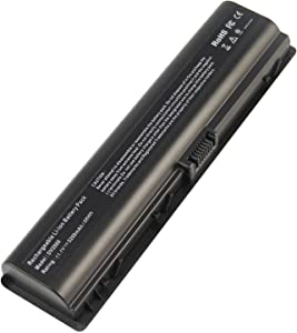 462853-001 Laptop Battery for HP Pavilion DV2000 DV2100 dv2200 dv2400 dv6000 dv6100 dv6300 dv6500 dv6700 Compaq Presario C700 Battery - 12 Months Warranty [6-Cell 11.1V 5200mAh/58Wh]