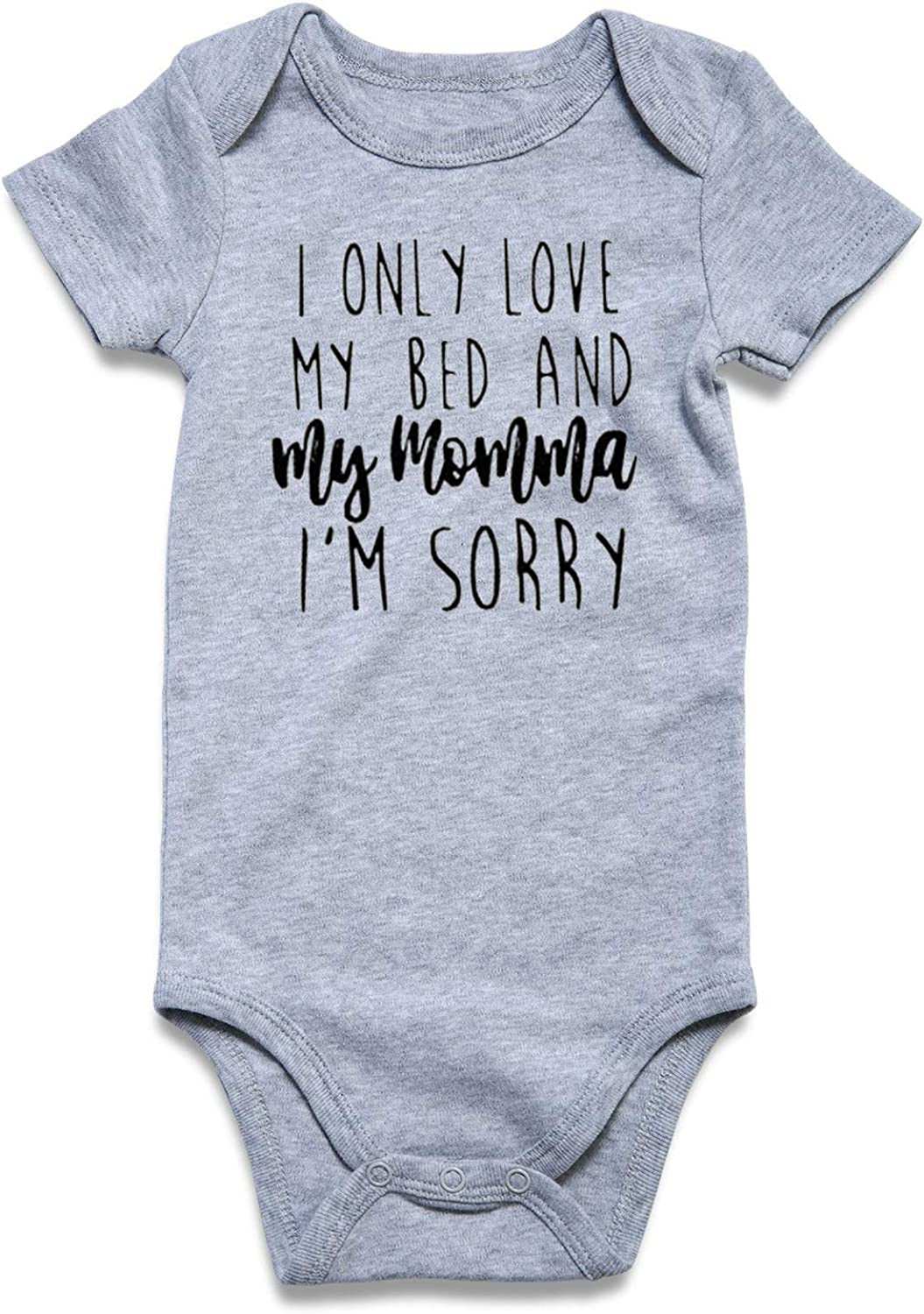 BFUSTYLE Baby Boys Girls Romper Infant Funny Bodysuit Outfit 0-18 Months