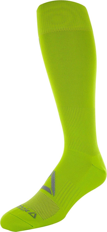リーボックすべてのスポーツアスレチックKnee High Socks B075Z1PYW4 Medium|High Viz Yellow High Viz Yellow Medium