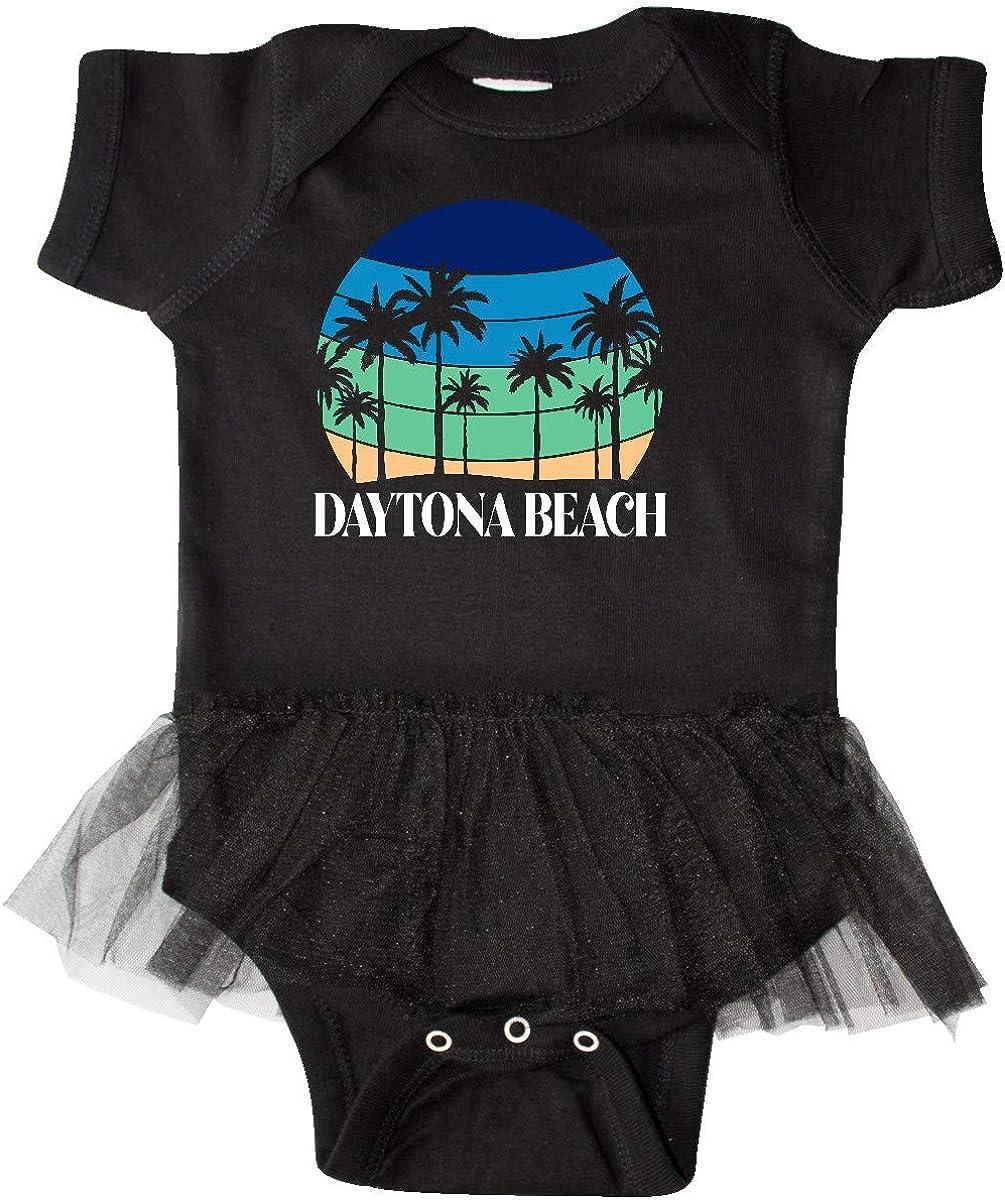 inktastic Daytona Beach Florida Vacation Trip Infant Tutu Bodysuit