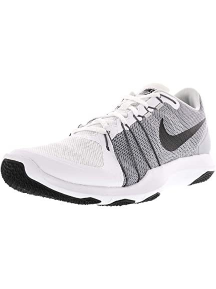 33490b9fc874 Nike New Men s Flex Train Aver Cross Trainer White Grey 11  Buy ...