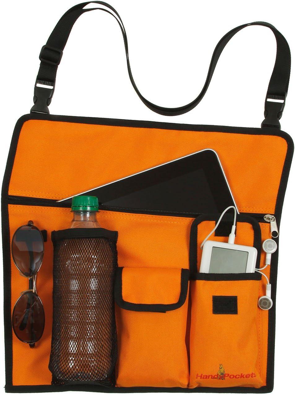 Periscope HandyPockets Shoreline Tote Bag and Chair Organizer Color Orange
