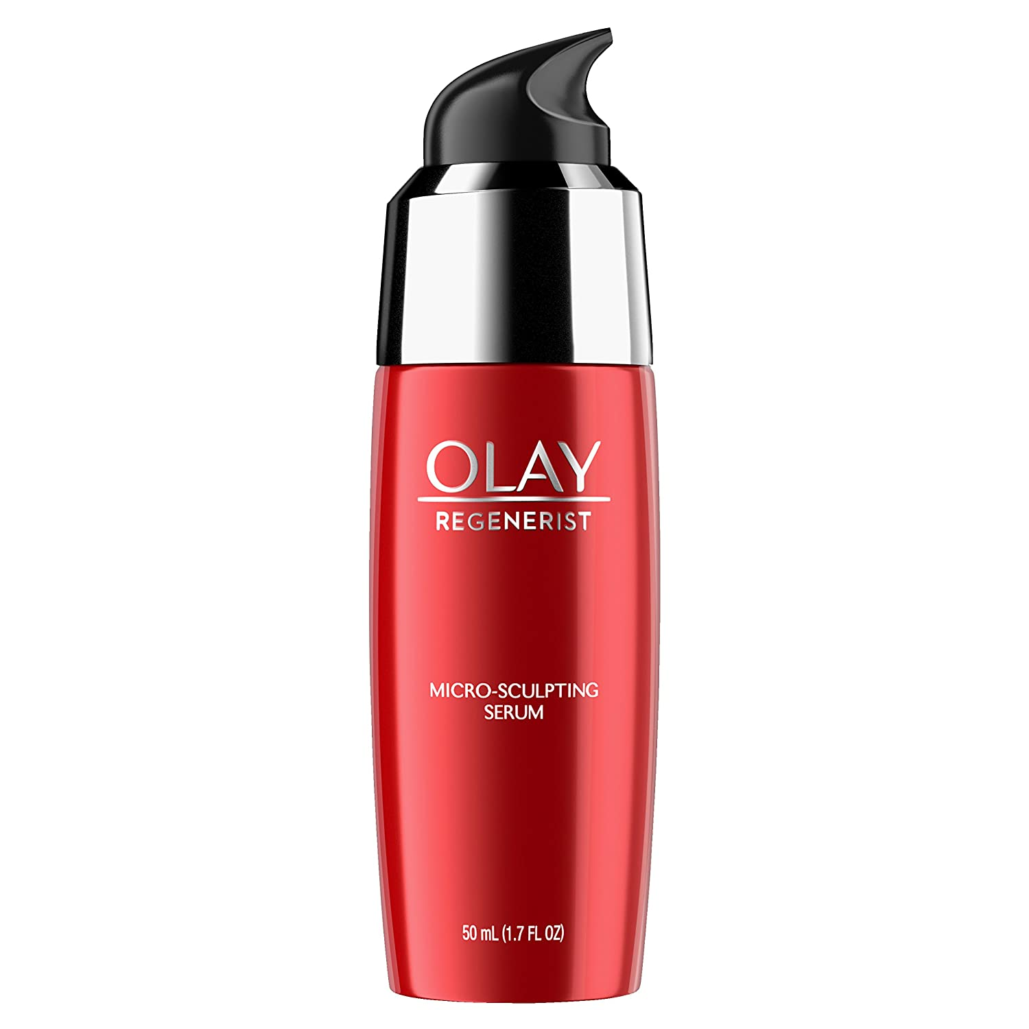 Face Serum with Collagen Peptide by Olay Regenerist with Vitamin E for Micro-Sculpting & Advanced Anti-Aging, 1.7 oz