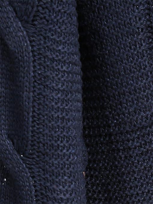 Sheinside - Jerséi - para mujer azul azul marino: Amazon.es: Ropa y accesorios