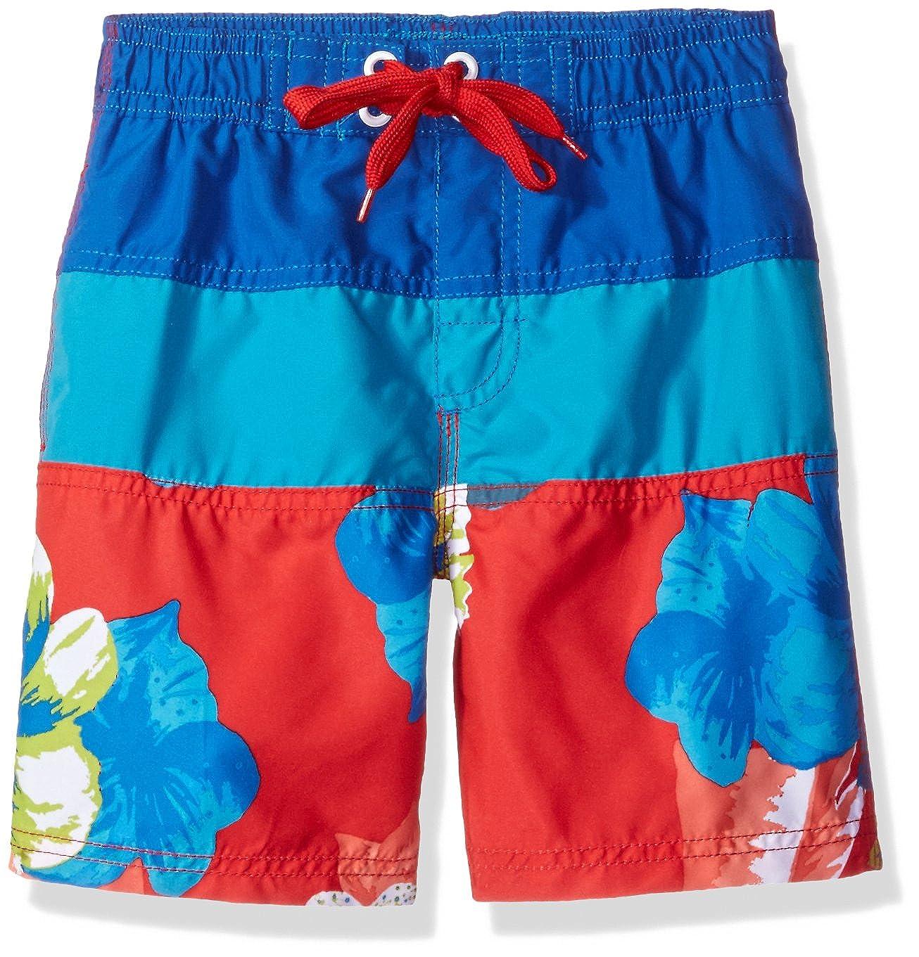 Kanu Surf Boys' Koloa Panel Swim Trunk 4474