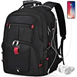 Laptop Backpack 17 Inch Waterproof Extra Large TSA Travel Backpack Anti Theft College School Business Mens Backpacks with USB