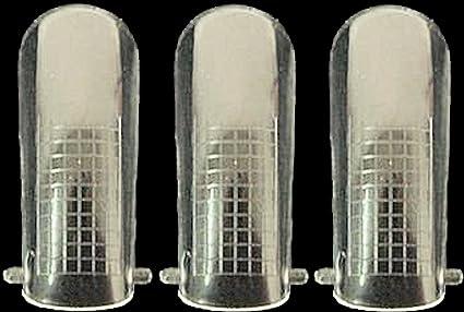"""10 plantillas duales """"Popits"""" para uñas con guía de longitud para gel acrílico,"""
