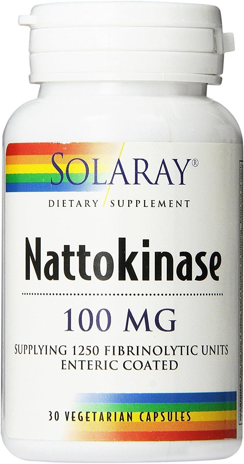 Solaray – Nattokinase, 30 capsules