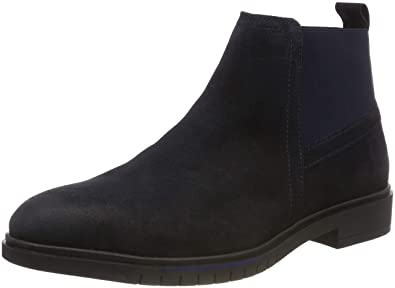 the latest a2d14 742b8 Tommy Hilfiger Men's Flexible Dressy Suede Chelsea Boots ...
