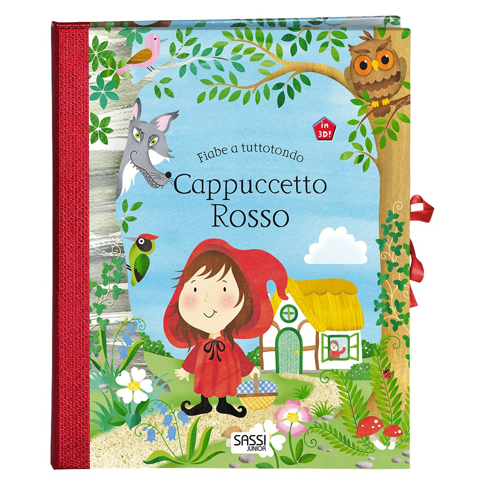 Cappuccetto Rosso Fiabe A Tuttotondo Elizabeth Golding