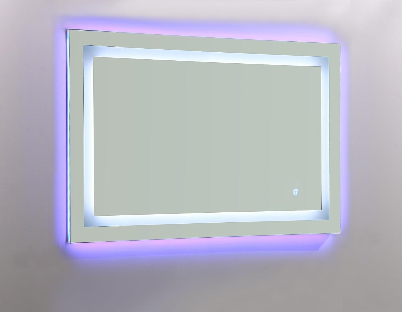 Amazon.com: Vanity Art LED lighted vanity Bathroom Mirror with white ...