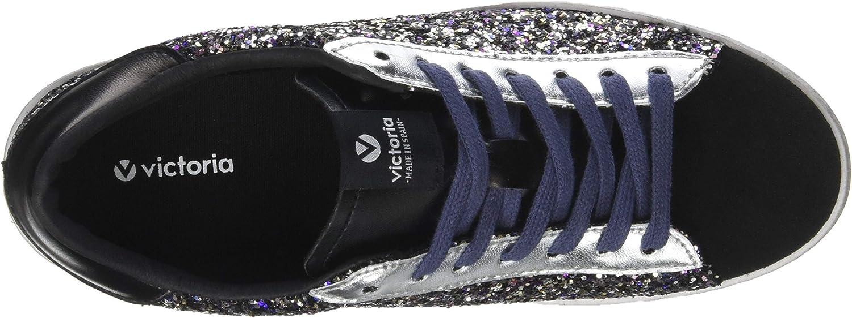 VICTORIA Sneaker 1126120 Noir Paillettes
