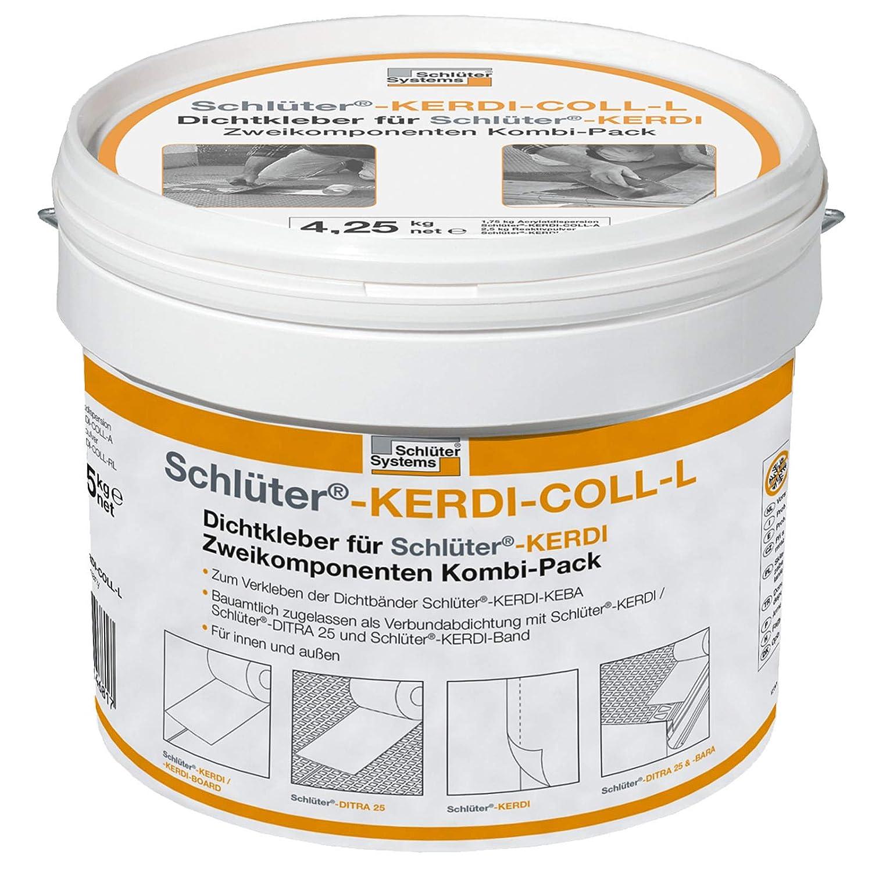 Schlüter Kerdi Coll L Ditra Dichtkleber Kleber Abdichtung Verbund 4 ...