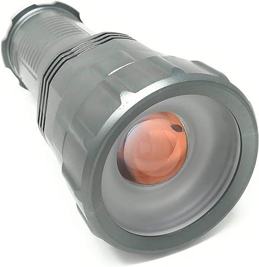 Giarebeam DEL Torche Lampe de Poche Super Lumineux 10000 Lm Militaire Tactique Eau