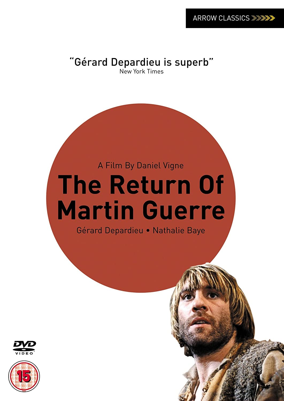 The return of martin guerre 1982 dvd amazon co uk g rard depardieu nathalie baye maurice barrier bernard pierre donnadieu isabelle sadoyan