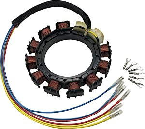 JETUNIT Genuine outboard 9 amp Stator Assy Maganet Coil For Mercury 2,3&4 CYLINDER 174-8778k1 398-8778A6 398-8778A10 398-8778A16 398-818535A3 398-9710A48 398-382075A