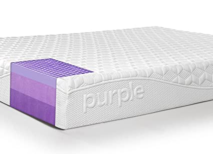 purple mattress. Amazon.com: Purple Queen Mattress | Hyper-Elastic Polymer Bed Supports Your Back Like A Firm And Cradles Hips Shoulders Soft Amazon.com