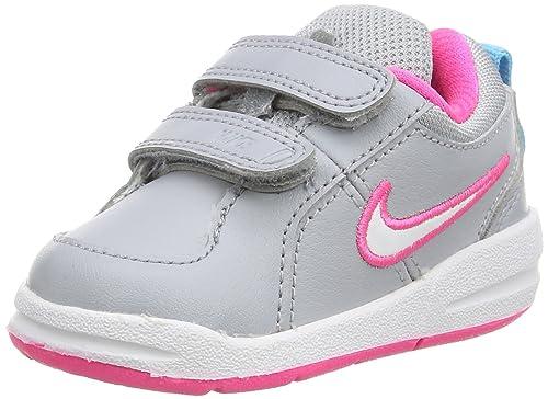 Nike Unisex Baby Pico 4 (TDV) Sneaker, Mehrfarbig (Wolf Grey
