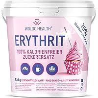 Eritritol 4.5 kg edulcorante sin calorías - Natural