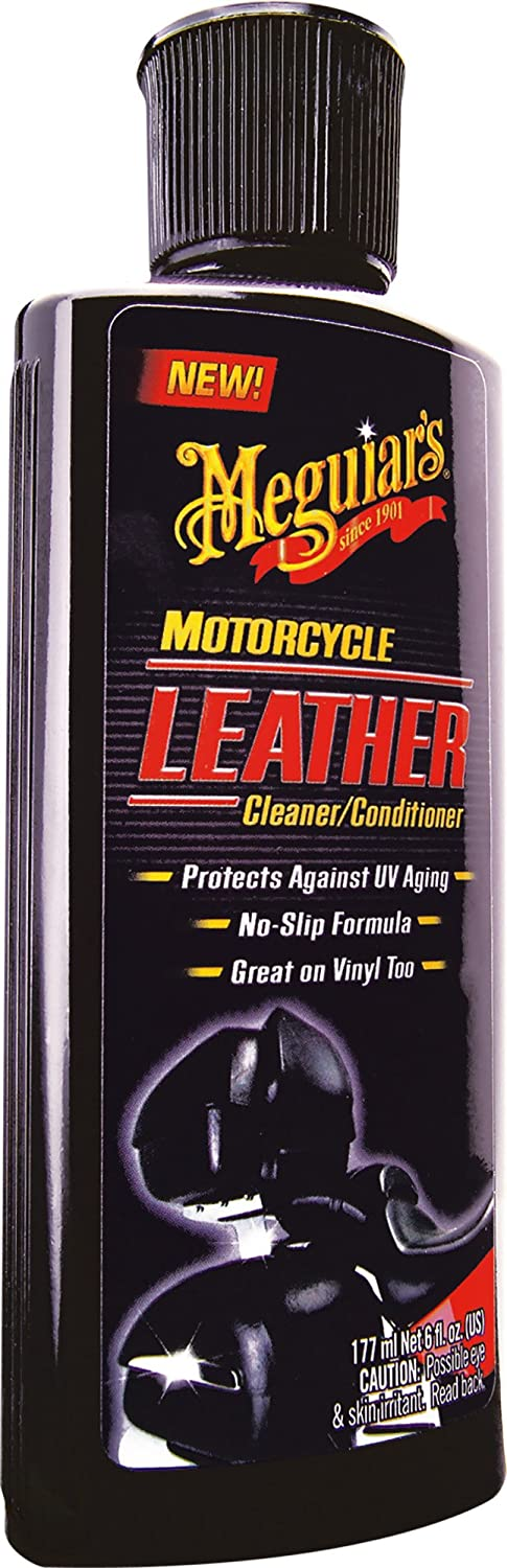 Meguiars Leather Cleaner / Conditioner Motorcycle Leather Care 177 ml Meguiar' s Car Care Products MC20306
