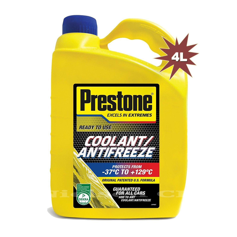 Prestone Ready Mix Antifreeze Coolant RMCAF4 - 4 Litre PRE-RMCAF4