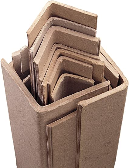 Packitsafe 25 x Cardboard Edge Guard Strong Pallet Protectors 1m x 35mm
