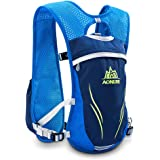 AONIJIE Running Hydration Vest for Hiking Cycling Hydration Backpack for Women and Men Lightweight Trail Running Backpack 5.5L