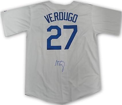 79338542900 Alex Verdugo Hand Signed Autographed Jersey LA Dodgers Beckett COA Size XL