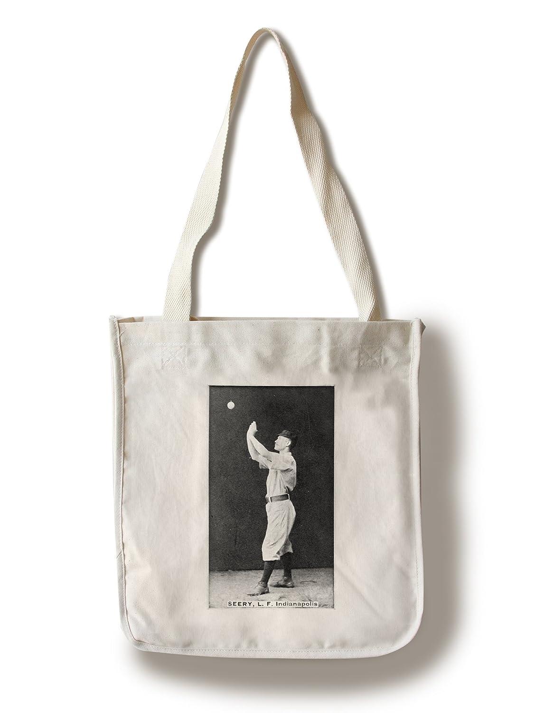 インディアナポリスHoosiers – Emmett Seery – 野球カード Canvas Tote Bag LANT-22462-TT Canvas Tote Bag  B0187ZVQD4