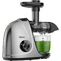 Juicer Machine, Jocuu Slow Masticating Juicer met zachte/harde modi, gemakkelijk schoon te maken, stille motor…