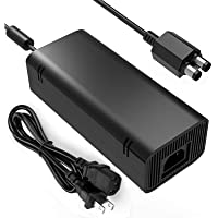 Xbox 360 Slim Power Supply, YCCSKY AC Adapter Power Supply Brick Charger with Cable for Xbox…