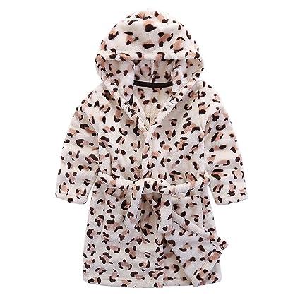 9bf8823ab Kids Bathrobe Hooded Pajamas