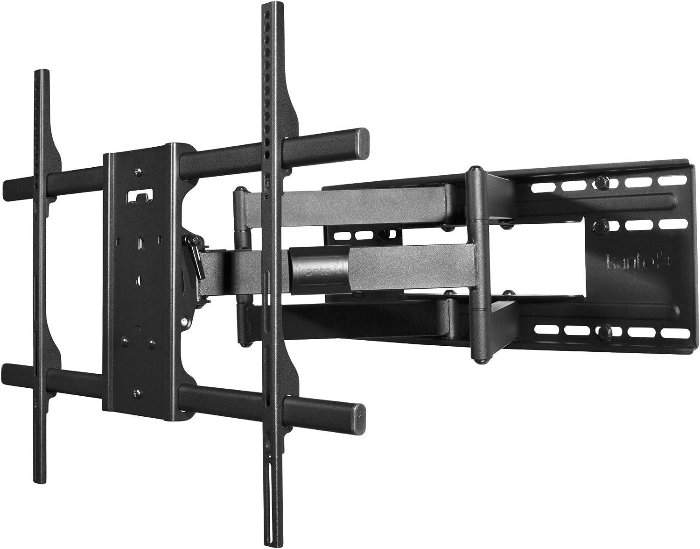 Kanto Fmx3c Tv Halterung Wandhalterung Für 40 90 Zoll Flachbildschirm Tv Schwenkbar Ausziehbar Neigbar Überlegene Qualität Und Sicherheit Elektronik