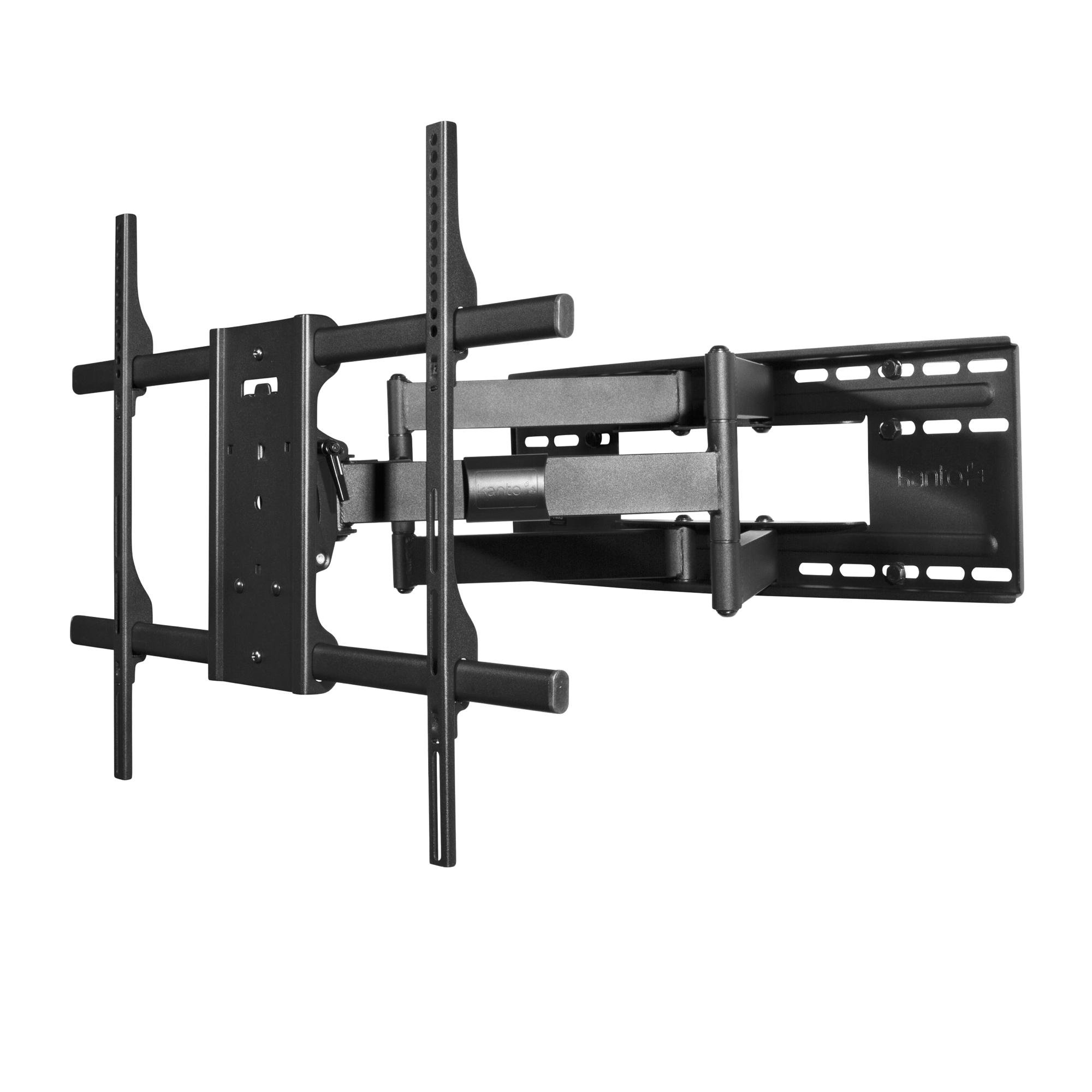 Kanto FMX3 Full Motion TV Wall Mount – Supports 40-90 inch Television Monitors – Superior Quality and Safety
