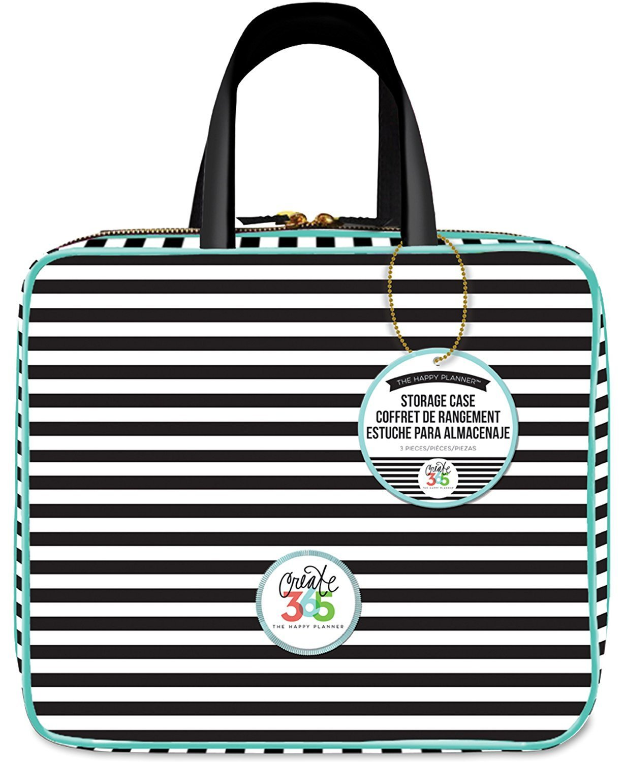 Me & My Big Ideas Striped Storage Case Planner (Limited Edition)