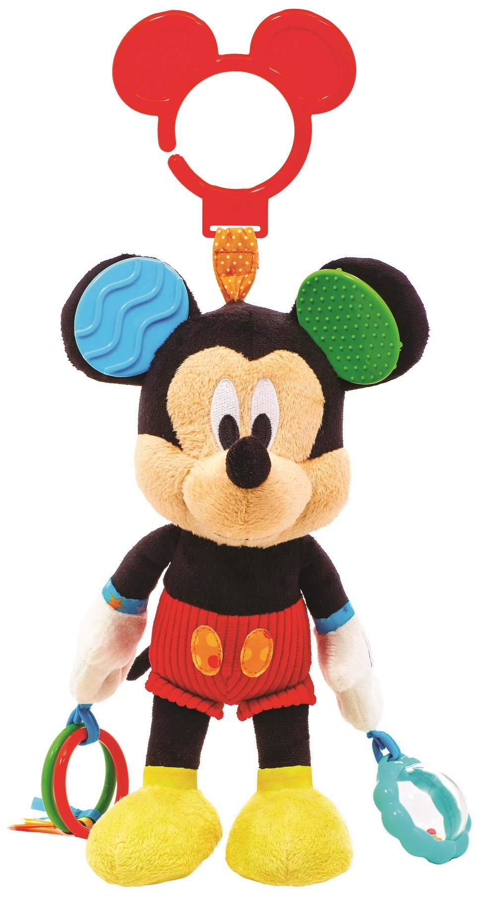Disney Baby Mickey Mouse On the Go Pull Down Activity Toy, 14''