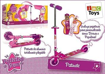 IMC Toys - Patito Feo Patinete Metal 2 Ruedas: Amazon.es ...