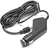 EDO Tech® 10 Feet Long, 5v 2a Mini USB Car Charger Vehicle Power Adapter for Garmin Dash Cam 10 20, Mobius Action Cam, G1w, G1w-c, Novatek Nt96650 A118, Mio Mivue 338 350 358 388 538 528 568, Cobra Cdr810 Cdr820 Cdr830, E-prance Gs608, Mini 0801, Ojocam, Hp F200, Samoon Gs6000 Gs8000l, Itracker Gt550ws, Black Box for DVR Dash Cam Vehicle Camera Recorder