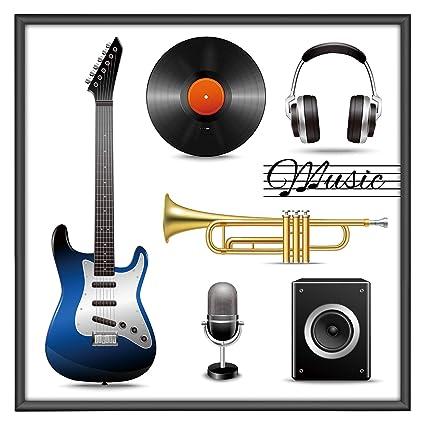 Amazon.com - ONE WALL Album Frame for Vinyl Record, Displays 12.5x12 ...
