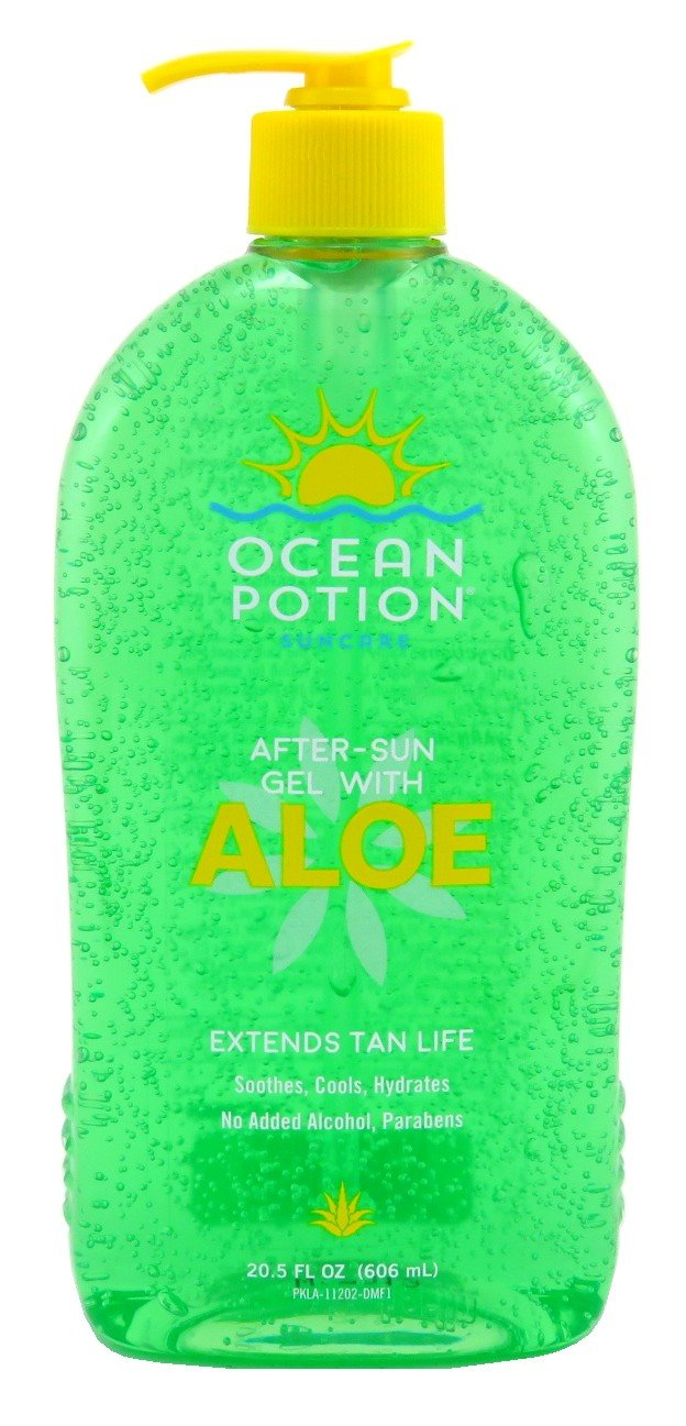 Ocean Potion Aloe Vera Gel 20.5oz Pump (6 Pack)