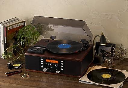 Amazon.com: Grabadora de CD TEAC con reproductor de tabletas ...