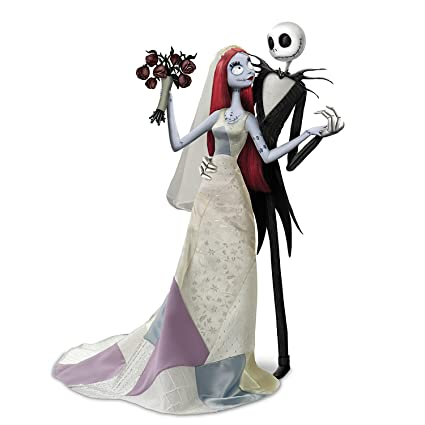 Tim Burton Nightmare Before Christmas Jack And Sally.Amazon Com The Ashton Drake Galleries Disney Tim Burton S