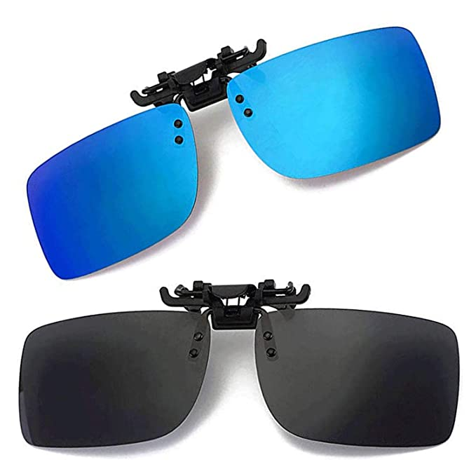 Amazon.com: Gafas de sol polarizadas con clip UV400, lentes ...