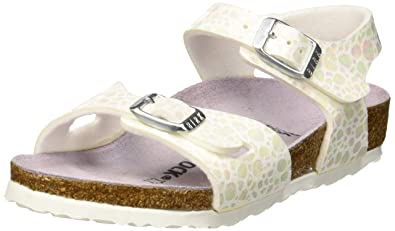 birkenstock white rio sandals junior